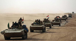 Iraqi forces start a military operation, specifically in borders with Syria and Jordan