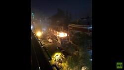 قتلى وجرحى بقصف استهدف مبنى في دمشق