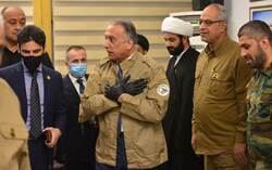 """الكاظمي يجمع الحشد وجهاز مكافحة الإرهاب على طاولة واحدة لـ""""إطفاء الفتنة"""""""