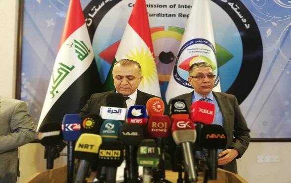 هيئة نزاهة اقليم كوردستان تعلن تسلم 88 ملف فساد مالي واداري