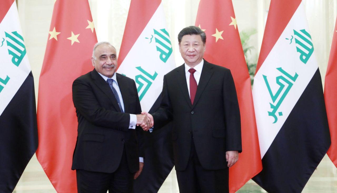 الرئيس الصيني: العراق شريك استراتيجي واساسي في الشرق الأوسط