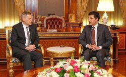 رئيس اقليم كوردستان يعرض على الشركات الامريكية أمراً للوصول الى عموم العراق