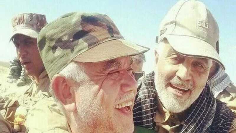 Source: Soleimani and Kawtharani in Baghdad to find a successor to Abdul Mahdi
