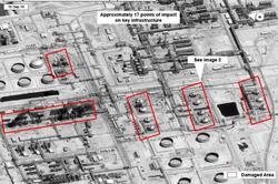 """نتائج تحقيق امريكي: ارامكو استهدفت بـ19 صاروخ """"كروز"""" انطلقت من العراق أو إيران"""