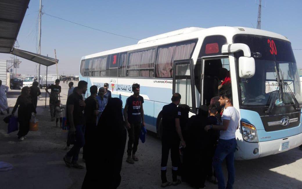 وزارة الهجرة تعيد  اكثر من 150 لاجئاً عراقياً من تركيا الى البلاد
