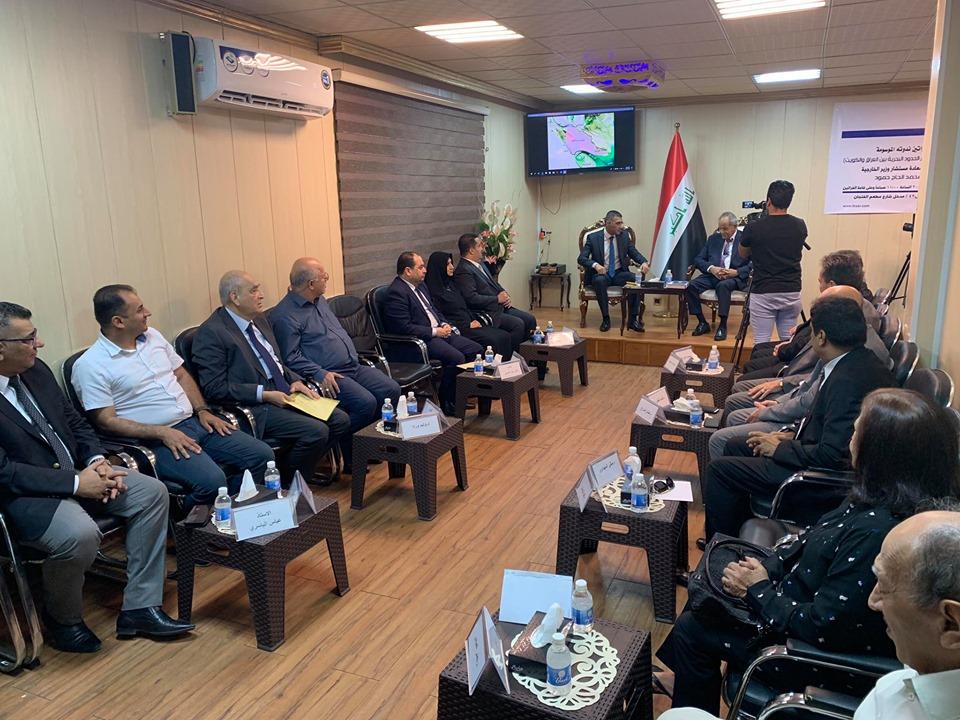 العراق يحمل مجلس الامن اعتماد وثائق وخرائط غير قانونية بترسيم الحدود مع الكويت