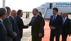 Iraq's President arrives Erbil