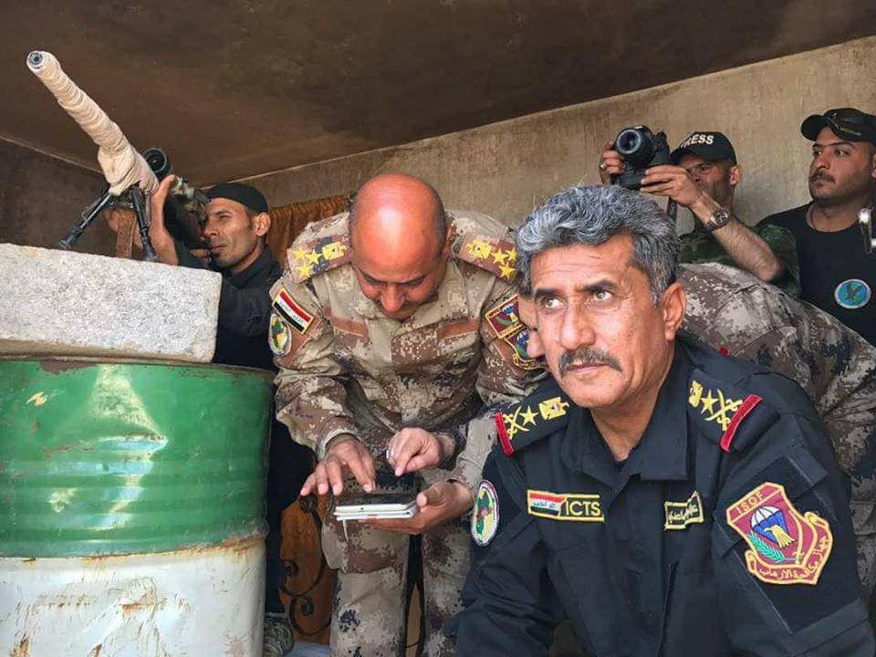 احالة احد ابرز قادة قتال داعش من مكافحة الارهاب الى امرة وزارة الدفاع