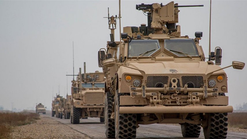 An American TV reveals the entry of Iranian military vehicles into Iraq