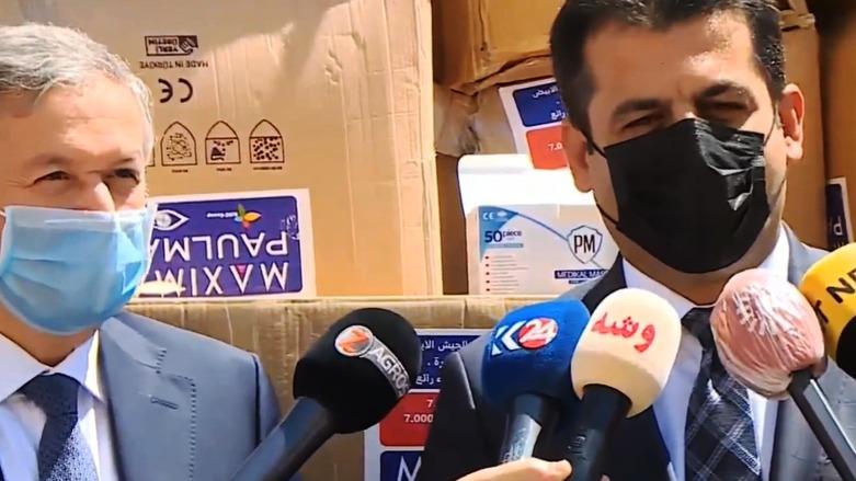"""بعد إصابات قياسية بكورونا.. كوردستان تستنجد بالقطاع الخاص وتتوقع """"الأسوأ"""""""