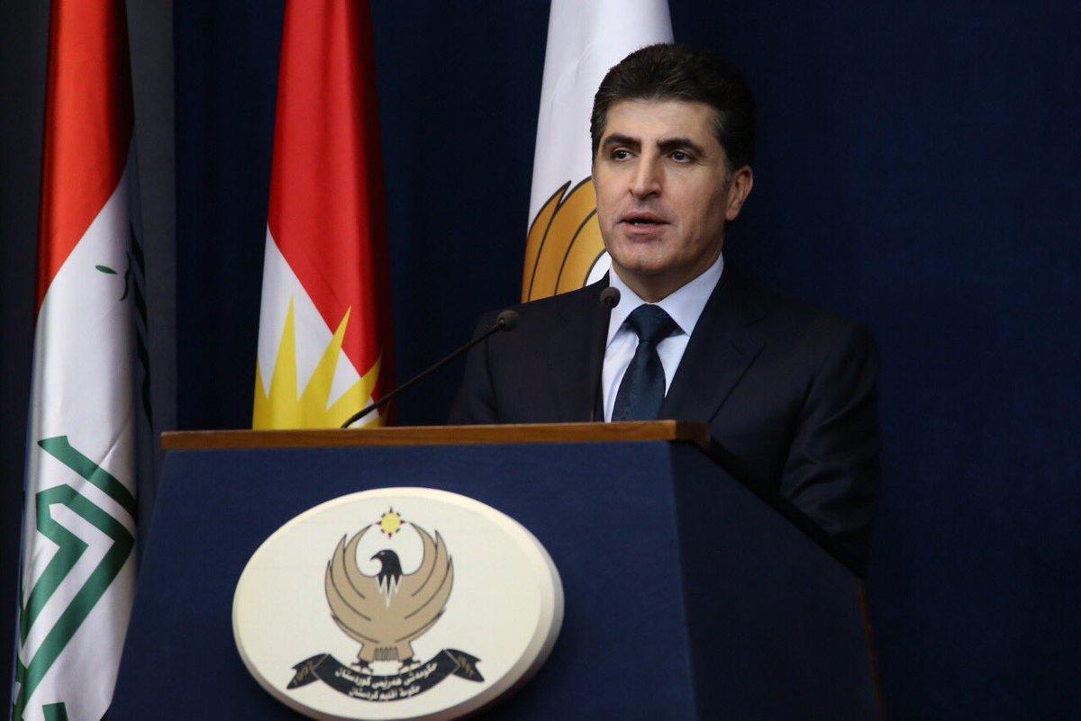 الرسالة الاولى لرئيس اقليم كوردستان الجديد نيجيرفان بارزاني