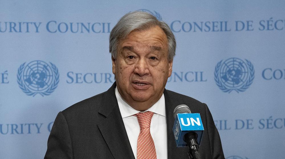 """الأمين العام للامم المتحدة """"حزين"""" من فقدان الأرواح في العراق"""