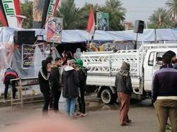 صور.. انسحاب الصدرين من ساحة احتجاج الديوانية