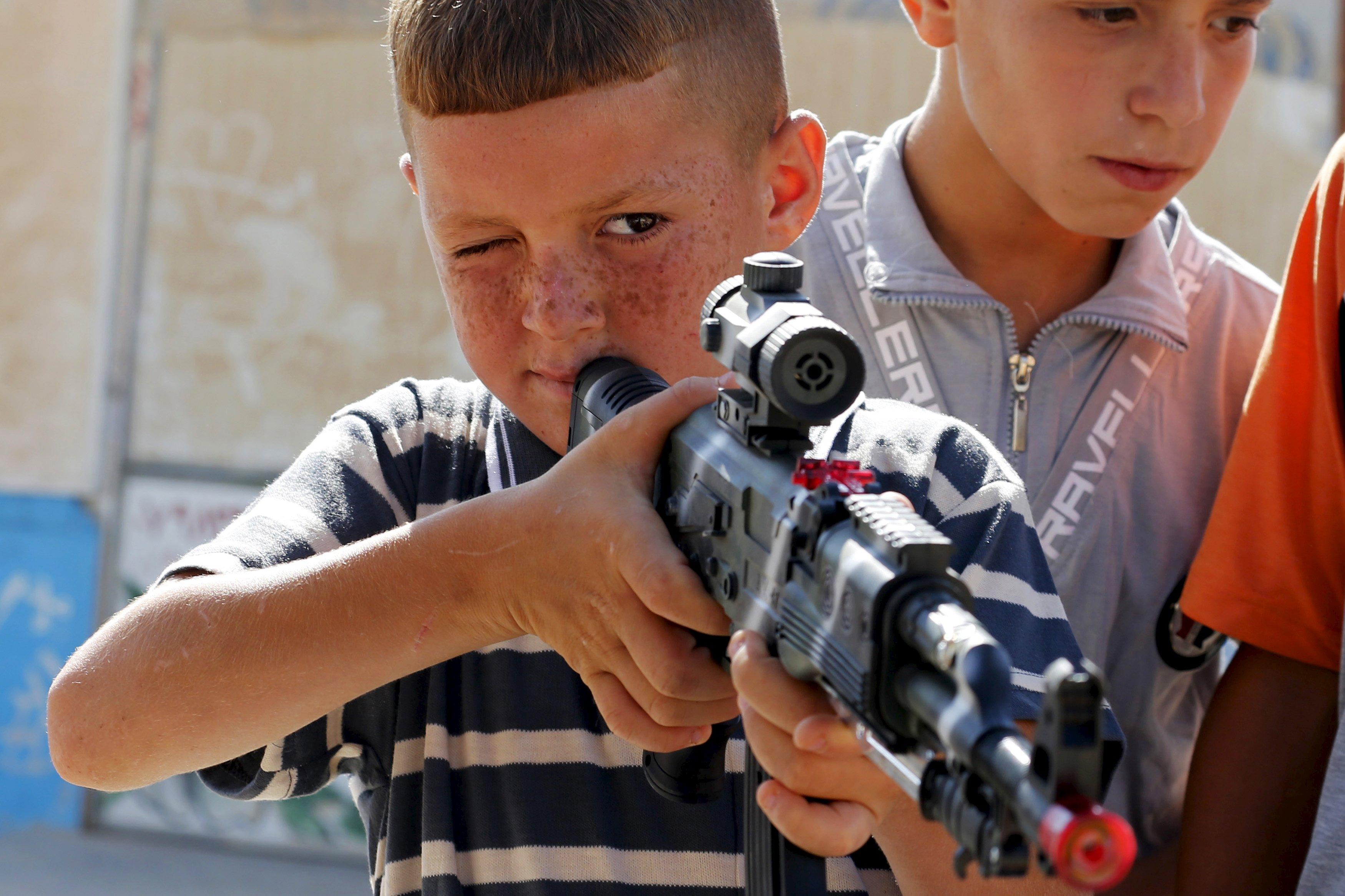 الموصل تصدر حظراً على الألعاب الخطرة