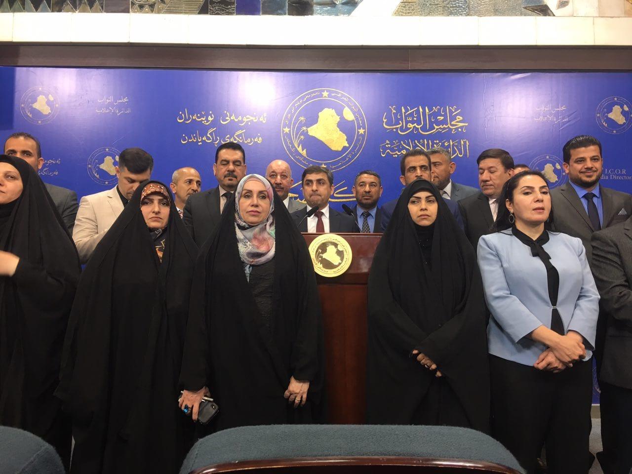 رئيس كتلة تحالف الصدر يتراجع عن قرار استقالته من البرلمان