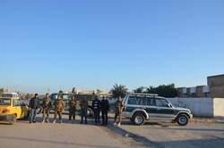 """""""القبعات الزرق"""" يطلقون النار ويعتدون بالضرب على المتظاهرين في مدن عراقية"""