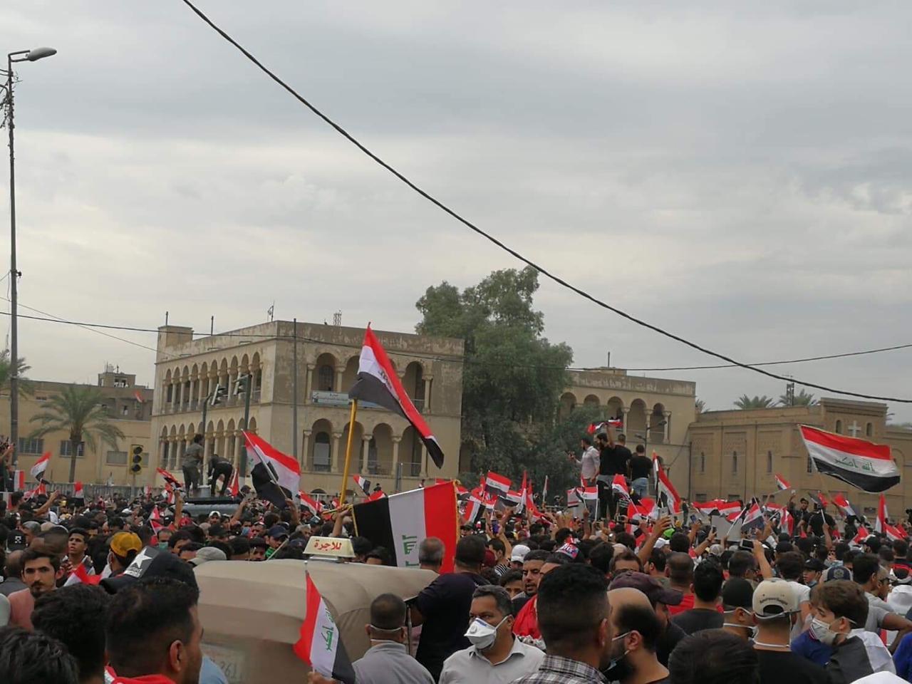 مفوضية حقوق الانسان توثق بالأرقام عمليات قتل طالت متظاهرين عراقيين