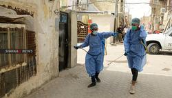 العراق يسجل 34 حالة وفاة وأكثر من الف اصابة بكورونا