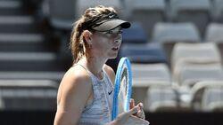 الروسية ماريا شارابوفا تعلن اعتزالها كرة المضرب