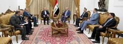 صالح يوضح لايران طبيعة موقف العراق من ازمة المنطقة