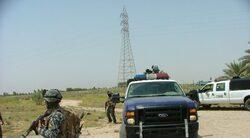 اصابة مقاتلين من الصحوة بتفجير غرب العاصمة بغداد