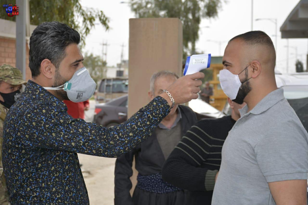 محافظة عراقية أخرى تغلق حدودها خوفاً من كورونا