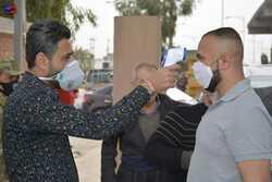 تعافي 10 مصابين بكورونا في محافظة عراقية