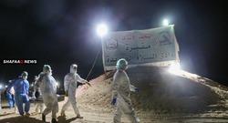 دفن ٧٥ متوفياً بفيروس كورونا في العراق خلال ٢٤ ساعة