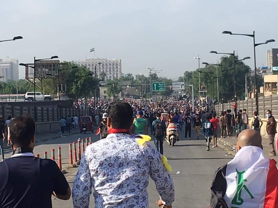 """البرلمان العراقي يصدر توجيها لامر فوج حمايته """"في حال وصول التظاهرات لبناية المجلس"""""""