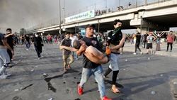 ارتفاع حصيلة التظاهرات بالعراق الى 12 قتيلا و650 جريحا