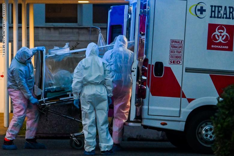 إيطاليا.. وفاة 793 شخصاً بكورونا خلال 24 ساعة وارتفاع الوفيات إلى 4825