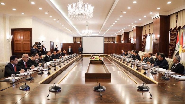 وفد رفيع من حكومة اقليم كوردستان برئاسة بارزاني يزور بغداد غدا الثلاثاء
