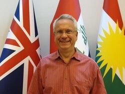 قنصل بريطاني جديد في كوردستان
