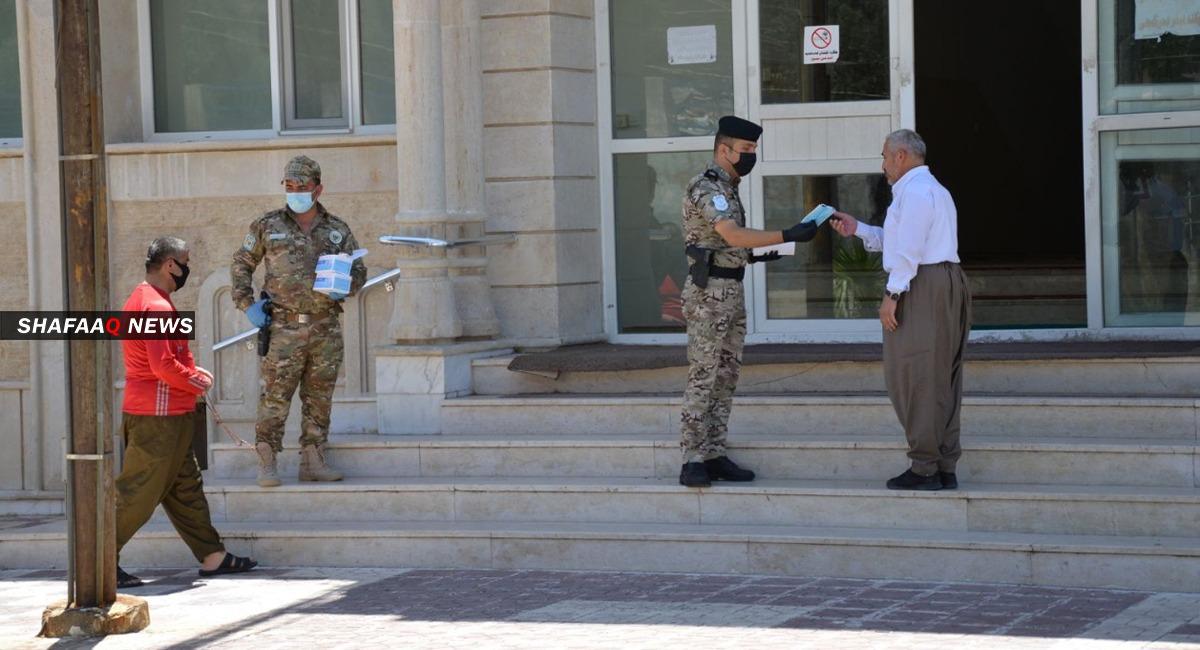 كوردستان تعلن 14 وفاة و232 إصابة جديدة بكورونا