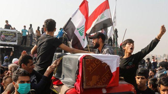 دعوة بريطانية فرنسية المانية لابعاد الحشد من مواقع الاحتجاجات ومحاسبة المخالفين