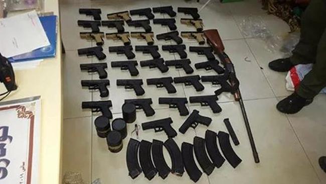 ضبط أسلحة ومتفجرات في جمجمال