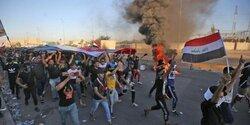 تصاعد وتيرة التظاهرات في بغداد ومحافظات اخرى واحراق مقار حزبية جنوبي العراق