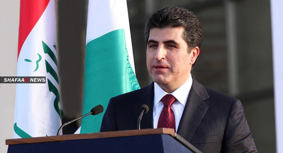 رئيس إقليم كوردستان نيجيرفان بارزاني يصل إلى الكويت