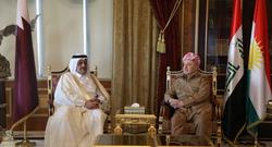 قطر تشيد بتقدم كوردستان وتبدي رغبة بتطوير العلاقة