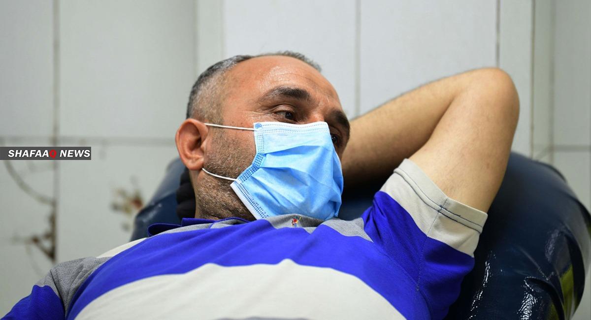 العراق يسجل 2200 اصابة جديدة بكورونا في اعلى معدل منذ تفشي الجائحة