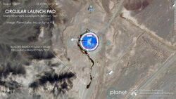صور سرية تكشف استعداد إيران لإجراء تجربة صاروخية