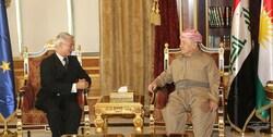 بارزاني يؤكد على ثلاثة بشأن العلاقات بين اربيل وبغداد