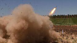 احباط هجوم صاروخي جديد على المنطقة الخضراء وسط بغداد