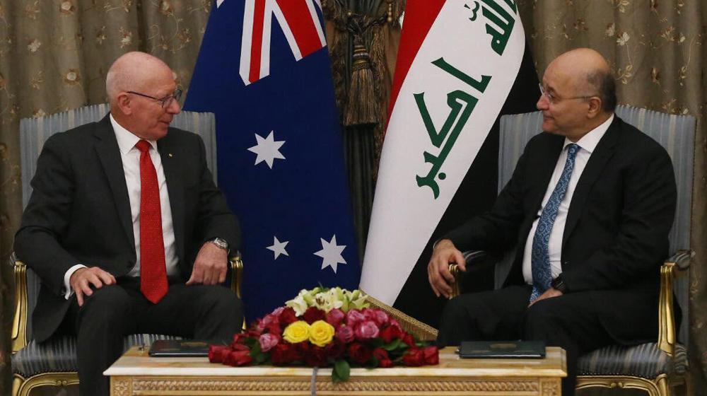 العراق واستراليا يبحثان أوضاع المنطقة واعادة اعمار المدن المحررة