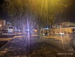الأمن يفرق المحتجين من امام القنصلية الايرانية في كربلاء واصابات في صفوف الجانبين