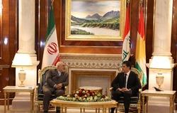 وزير الخارجية الإيراني يصل اربيل ويجتمع مع رئيس الإقليم