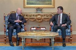 """رئيس اقليم كوردستان يتعهد للأمم المتحدة بـ""""تحقيق العدالة"""" في ملف مهم"""