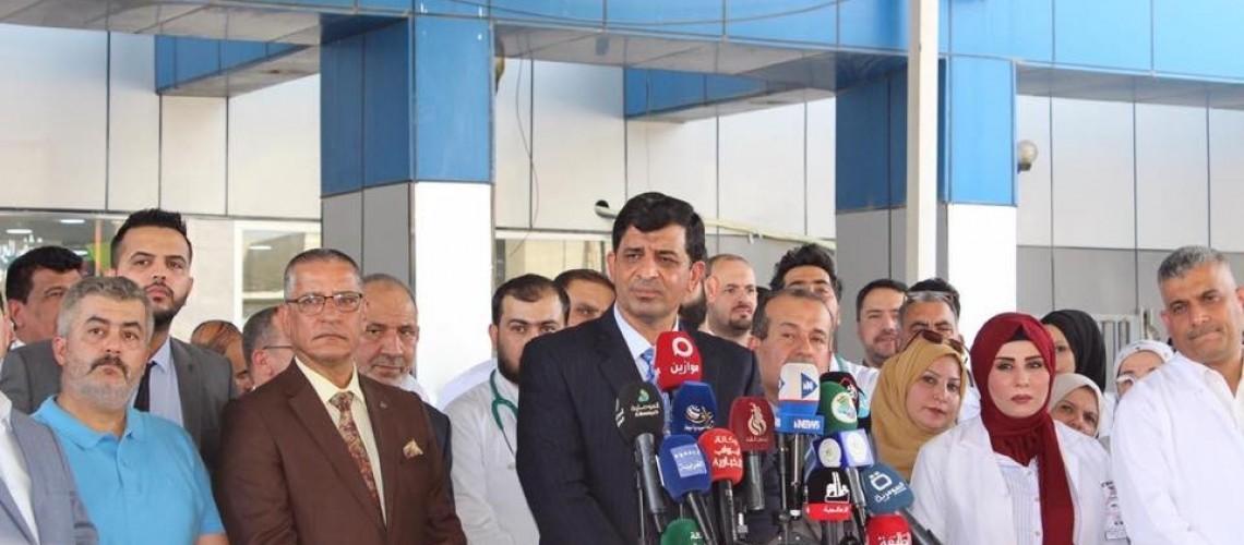 مسؤول بالصحة يتوقع تراجع معدل الاصابات والوفيات بكورونا في العراق