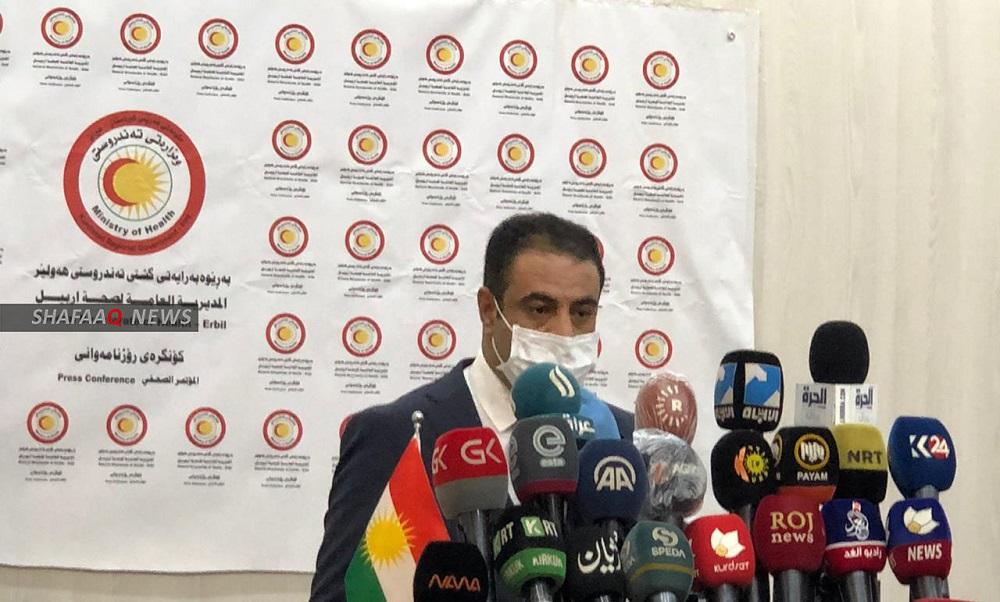 اربيل تواجه كورونا باربع مستشفيات: شفاء 20 إصابة من أصل 138