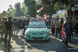 قيادة شرطة كربلاء توضح حقيقة تظاهرات الاجهزة الامنية